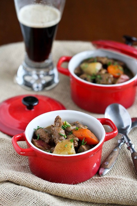 Irish Stew Recipe with Lamb, Potatoes & Guinness Beer
