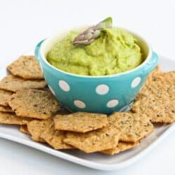 Asparagus Hummus Recipe for Healthy Snacking by Cookin' Canuck #vegetarian #vegan