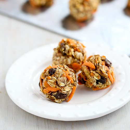 No-Bake Carrot Cake Granola Bites Recipe