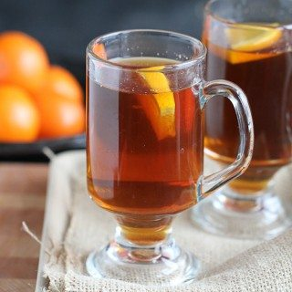 Hot Rum & Ginger Tea Toddy Recipe