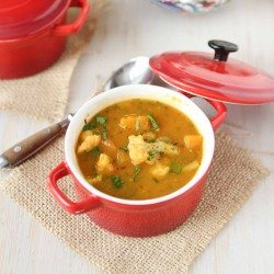 Winter Vegetable Soup Recipe with Butternut Squash & Cauliflower