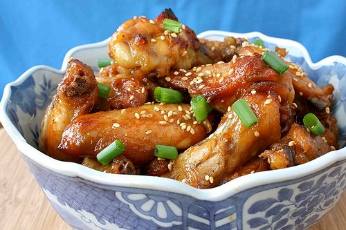 Sweet & Sticky Chicken Wings by Cookin' Canuck