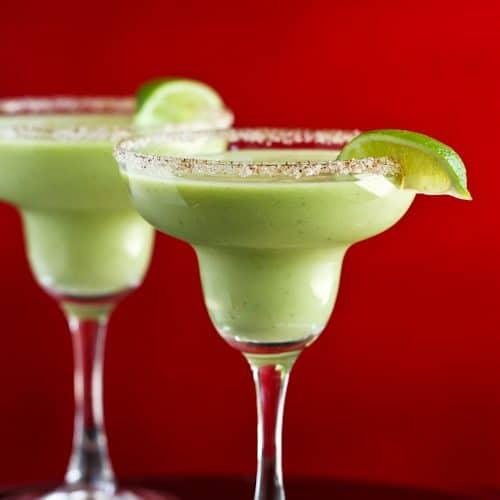 Kicked-Up Avocado Margarita Recipe For