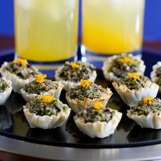 Mini Asparagus & Olive Tapenade Fillo Shells Recipe