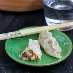 Steamed Shrimp & Mushroom Dumplings Recipe for Chinese New Year by Cookin' Canuck