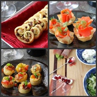 New Year's Eve Appetizer, Hors D'Oeuvres & Cocktail Recipes