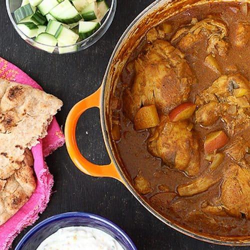 Mum's Chicken & Potato Curry