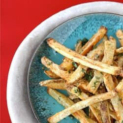 Baked French Fries with Indian Spices (Cumin & Coriander) Recipe | cookincanuck.com
