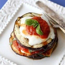 Grilled Zucchini & Eggplant Parmesan Recipe {Vegetarian}
