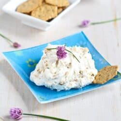 Caramelized Onion & Chive Cream Cheese Recipe