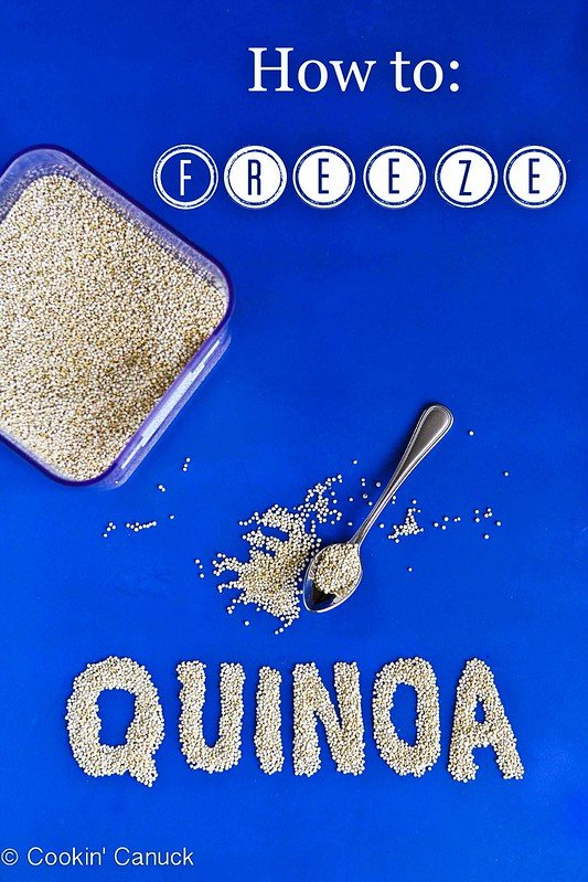 How to: Freeze Quinoa {And Quinoa Recipe Link-Up} #quinoa #healthy