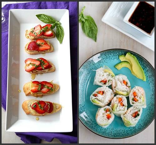 Light Appetizer Recipes | cookincanuck.com