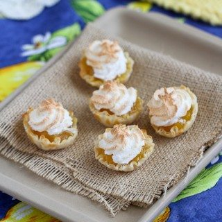 Mini Lemon Meringue Pie Fillo Tartlet Recipe