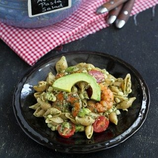 Shrimp, Corn & California Avocado Pasta Salad Recipe & a CA Avocado Trip