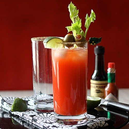 The Caesar Cocktail, aka the Canadian Bloody Mary