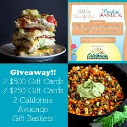 Wake Up Breakfast with California Avocados Link-Up {Giveaway} | cookincanuck.com
