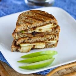 Gruyère, Apples & Fig Panini Recipe | cookincanuck.com