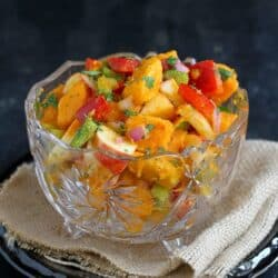 Sweet Potato & Apple Salad Recipe with Chipotle Lime Dressing | cookincanuck.com