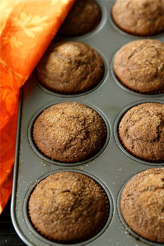 Whole Wheat Pumpkin Spice Latte Muffins | cookincanuck.com #pumpkin