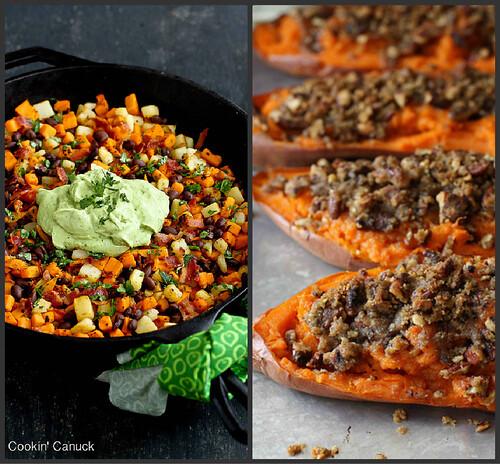 What's Cookin'...Best Sweet Potato Recipes   cookincanuck.com #sweetpotato