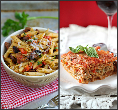 Fantastic Whole Wheat Pasta Recipes | cookincanuck.com #pasta