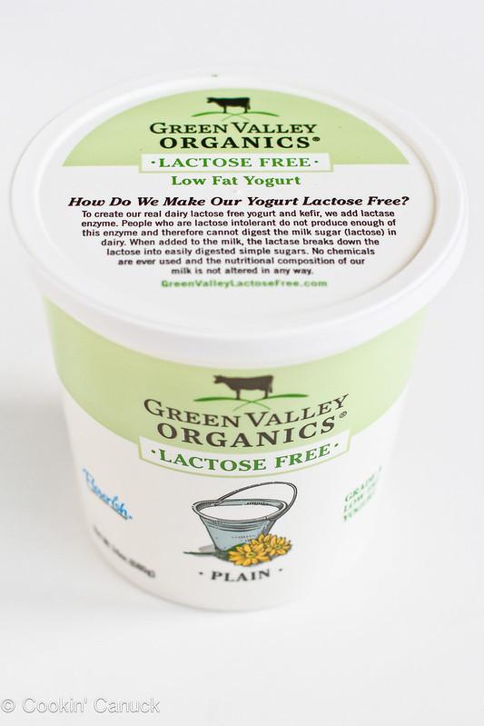 Cranberry Oatmeal Yogurt Bars Recipe | cookincanuck.com #lactosefree #dessert