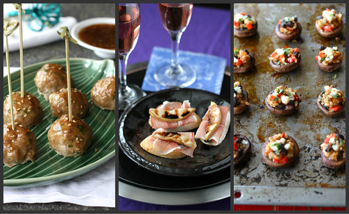 New Year's Eve Recipes: Cocktails and Appetizers