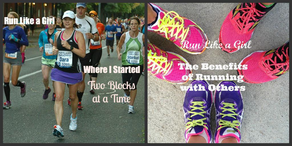 Run Like a Girl Posts | cookincanuck.com #running #runwithdara #fitness #exercise