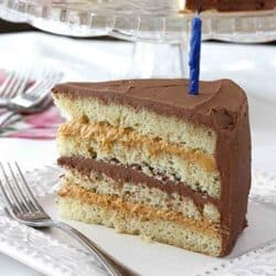 Chocolate & Dulce de Leche Birthday Cake Recipe