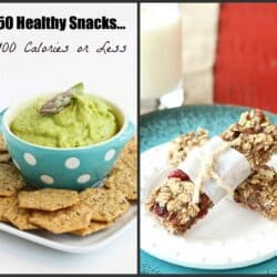 50 Healthy Snacks…100 Calories or Less
