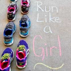Run Like a Girl: Lacing Up Together {A Challenge}