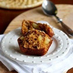 Whole Wheat Apple Spice Muffins Recipe