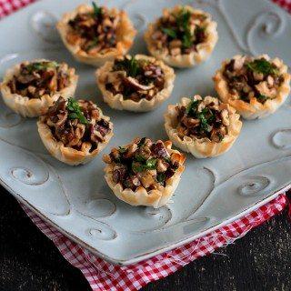 Mini Mushroom & Gorgonzola Bites Recipe