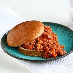 Healthy Turkey Sloppy Joe Recipe | cookincanuck.com