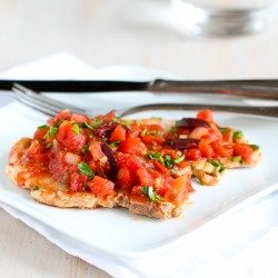 Easy Braised Pork Chop Recipe with Tomatoes & Olives