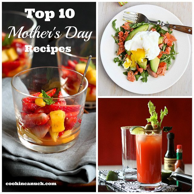 Top 10 Mother's Day Brunch Recipes | cookincanuck.com #MothersDay #recipe