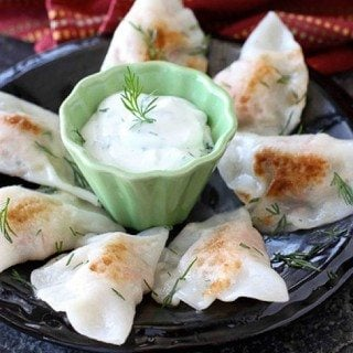 Smoked Salmon & Potato Wonton Pierogies Recipe