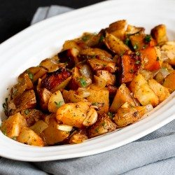 Grilled Potatoes Recipe with Rosemary & Smoked Paprika | cookincanuck.com