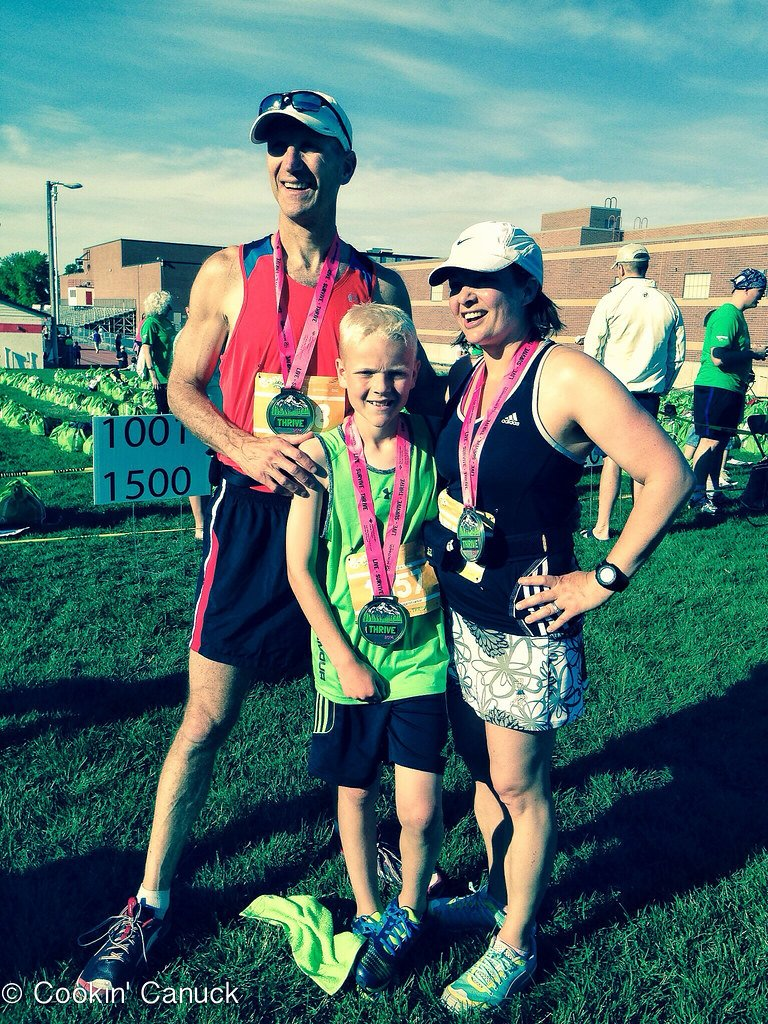 Half-Marathon Recap and Muscle Recovery Success | cookincanuck.com #running #fitness