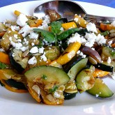 Grilled Summer Vegetable Salad Recipe