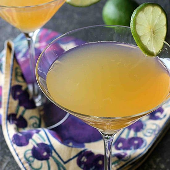 Passionfruit & Lime Gin Martini Recipe