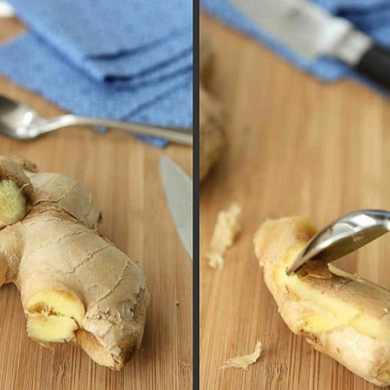 How to: Peel Ginger