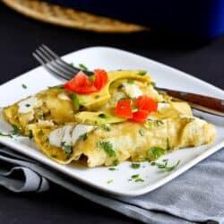 Grilled Vegetable Enchiladas Recipe {Gluten-Free} | cookincanuck.com
