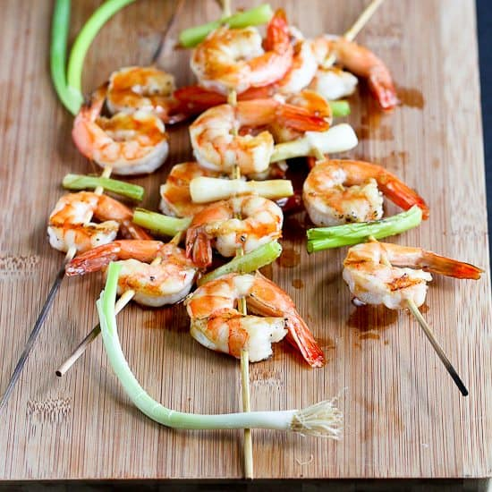 Grilled Teriyaki Shrimp Recipe