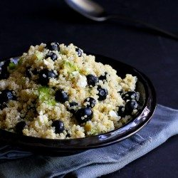 Quinoa, Blueberry & Avocado Salad Recipe | cookincanuck.com