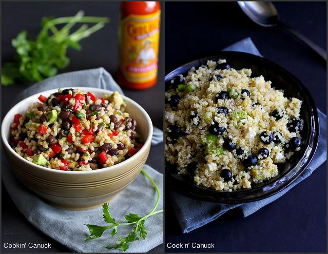 Whole Grain Side Dish Recipes   cookincanuck.com #vegetarian #vegan