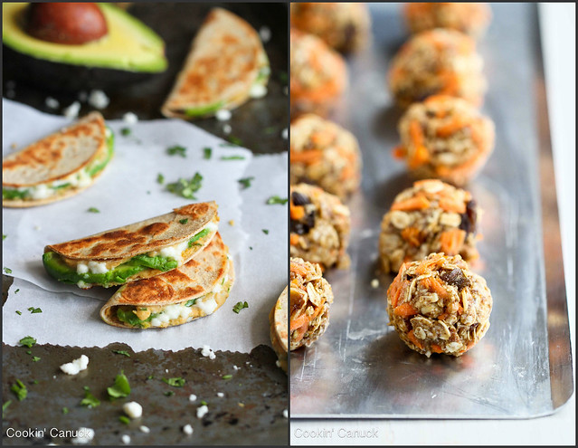 Healthy Snack Recipes | cookincanuck.com #vegetarian
