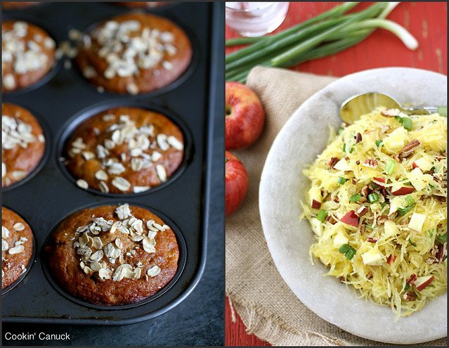 Healthy Apple Recipes | cookincanuck.com #vegetarian