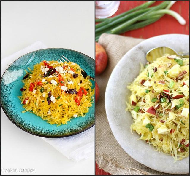 Fantastic spaghetti squash recipes | cookincanuck.com #vegetarian