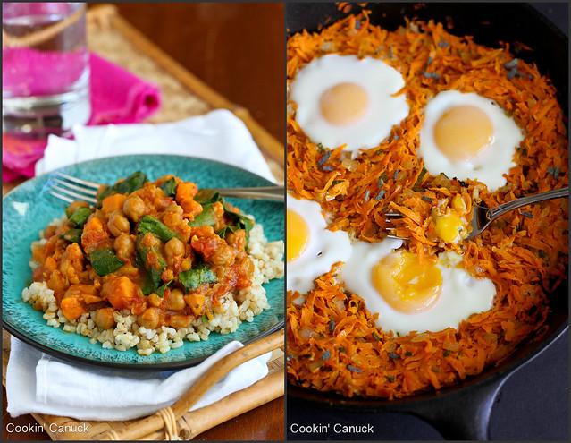 Healthy Sweet Potato Recipes | cookincanuck.com #vegetarian